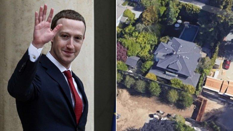 Zuckerbergs Palo Alto-hjem