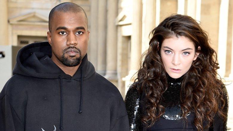 Kanye West og Lorde