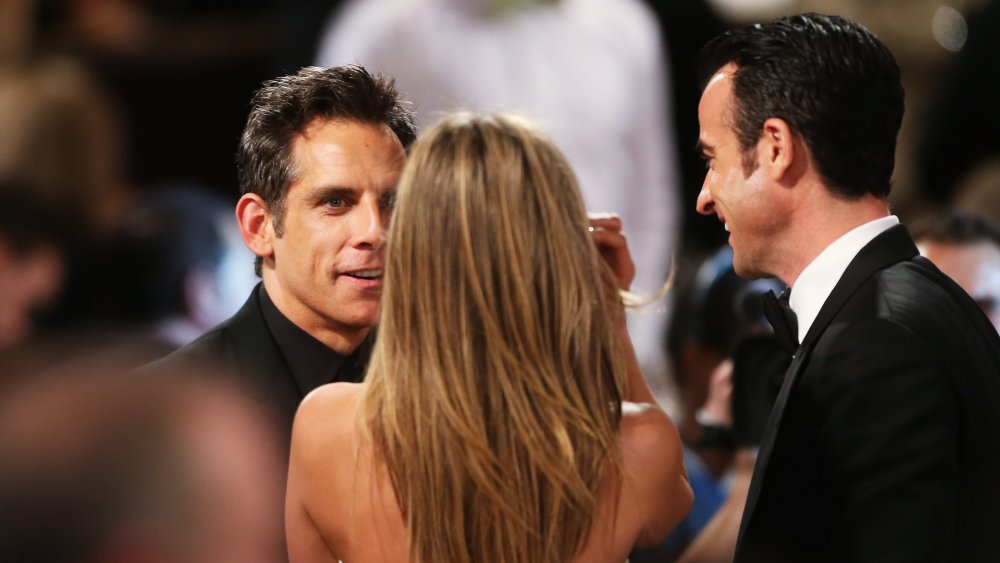 Ben Stiller, Jennifer Aniston og Justin Theroux