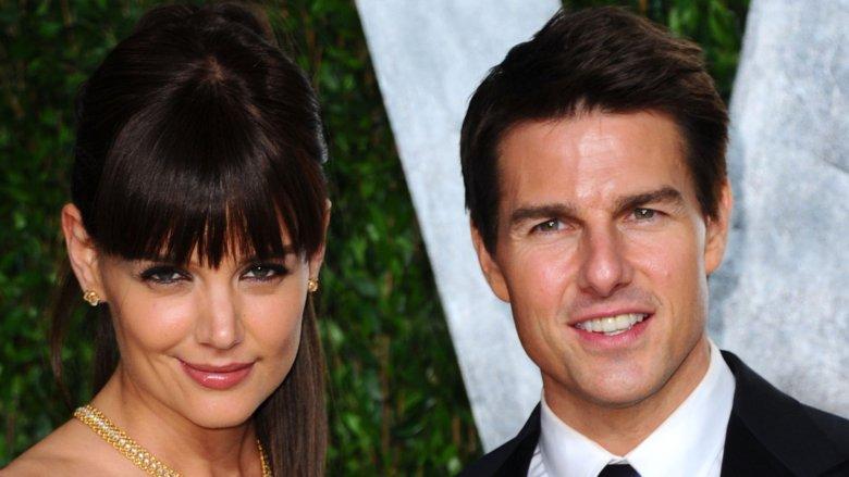 Katie Holmes og Tom Cruise