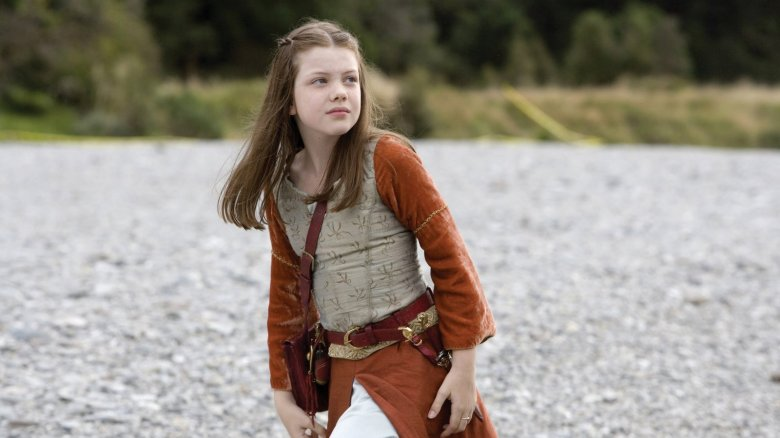 Georgie Henley som Lucy Pevensie i Chronicles of Narnia