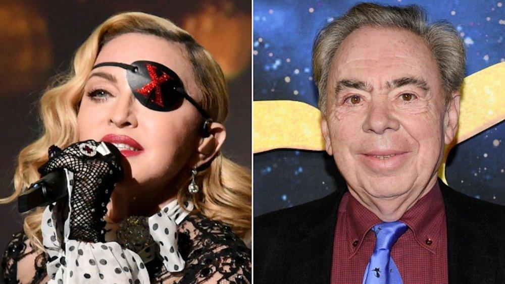 Madonna, Andrew Lloyd Webber