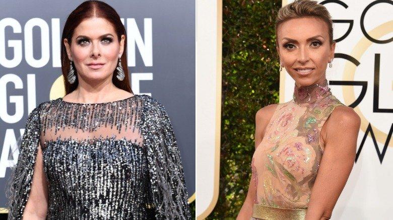 Debra Messing og Giuliana Rancic på Golden Globes 2019