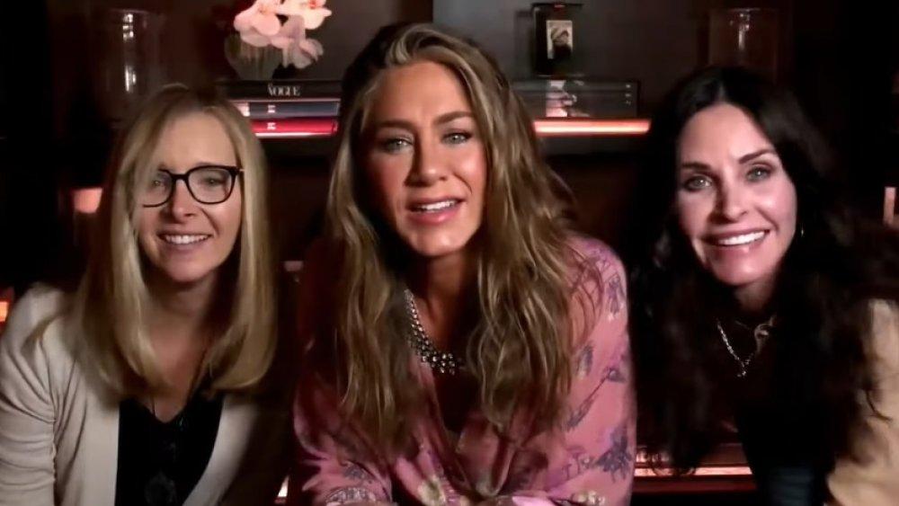Lisa Kudro, Jennifer Aniston, Courtney Cox