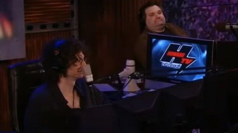 Artie Lange og Howard Stern