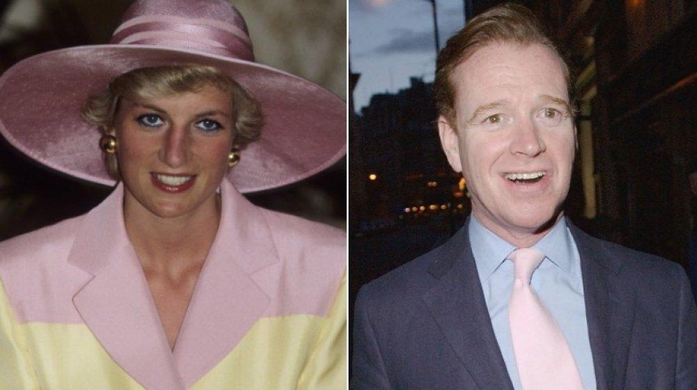 Delt bilde av prinsesse Diana og James Hewitt