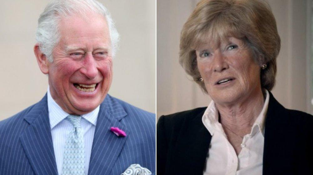 Delt bilde av prins Charles og Lady Sarah McCorquodale