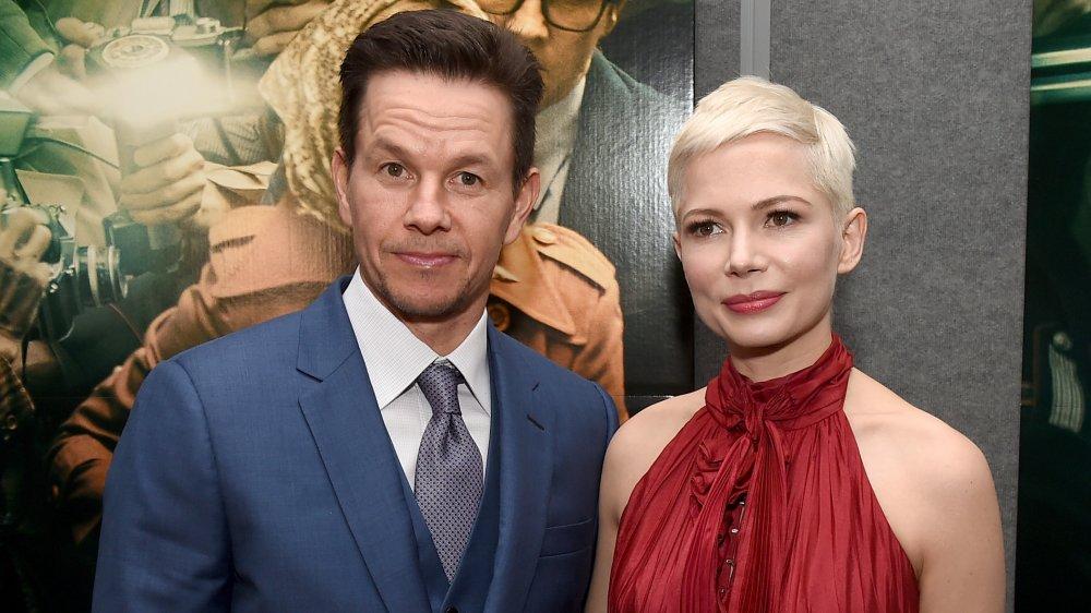 Wahlberg og Michelle Williams