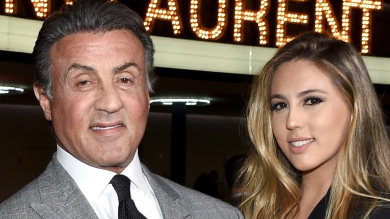 Sophia Stallone og Sylvester Stallone