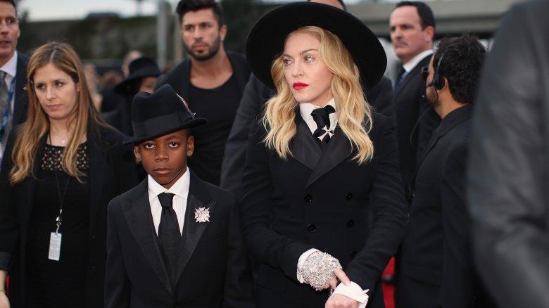 Madonna og David Banda