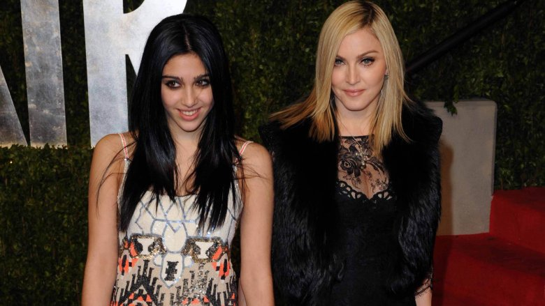 Madonna og Lourdes Leon