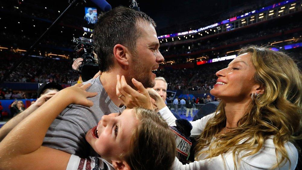 Tom Brady og familie