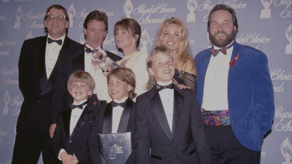 Zachery Ty Bryan med rollebesetningen Home Improvement på People's Choice Awards