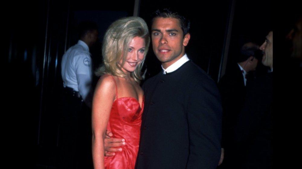 Kelly Ripa og Mark Consuelos på Soap Opera Digest Awards i 1996