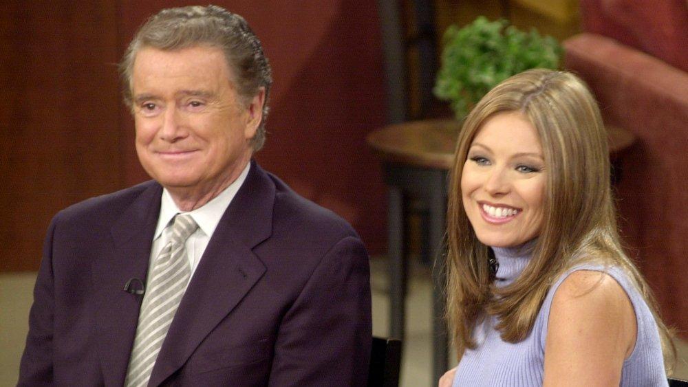 Regis Philbin og Kelly Ripa på Live with Regis and Kelly i 2001
