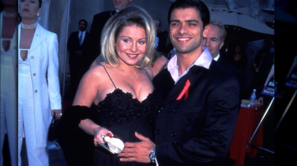 Kelly Ripa og Mark Consuelos på Soap Opera Digest Awards i 1997
