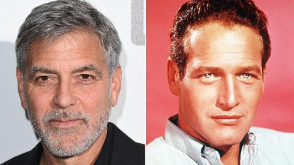George Clooney og Paul Newman