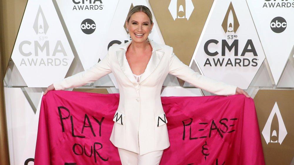 Jennifer Nettles på den 53. CMA-prisen