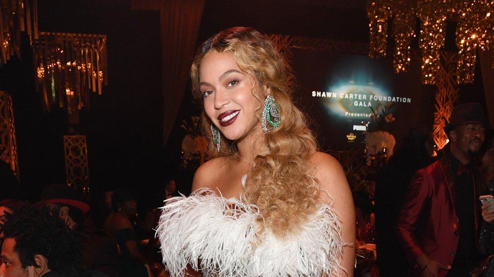 Beyonce på en festbegivenhet
