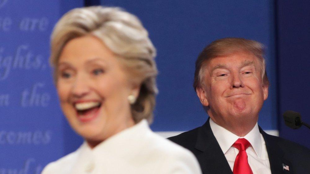 Hillary Clinton og Donald Trump