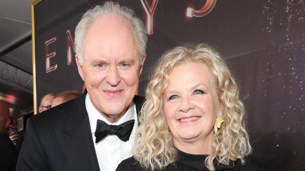 John Lithgow og Mary Yeager på Emmys