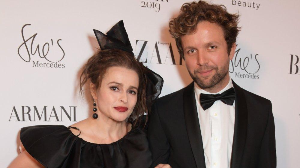 Helena Bonham Carter og Rye Dag Holmboe på Harper's Bazaar-arrangement