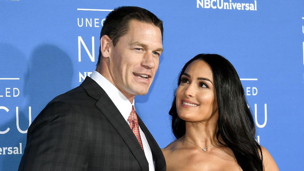 Nikki Bella og John Cena