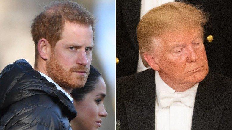 Prins Harry og Donald Trump