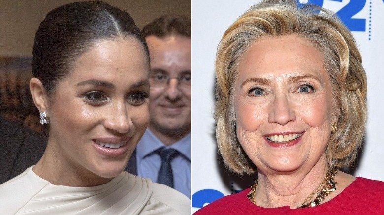 Meghan Markle og Hillary Clinton