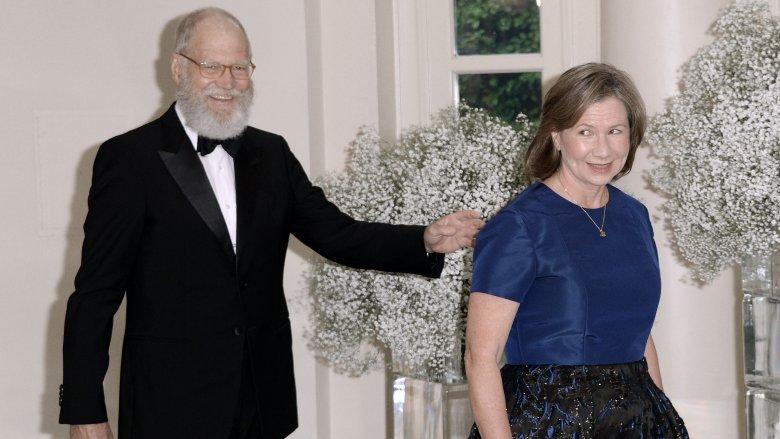 David Letterman og Regina Lasko
