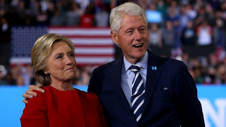 Hillary og Bill Clinton