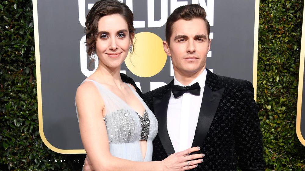 Alison Brie og Dave Franco på Golden Globes i 2019