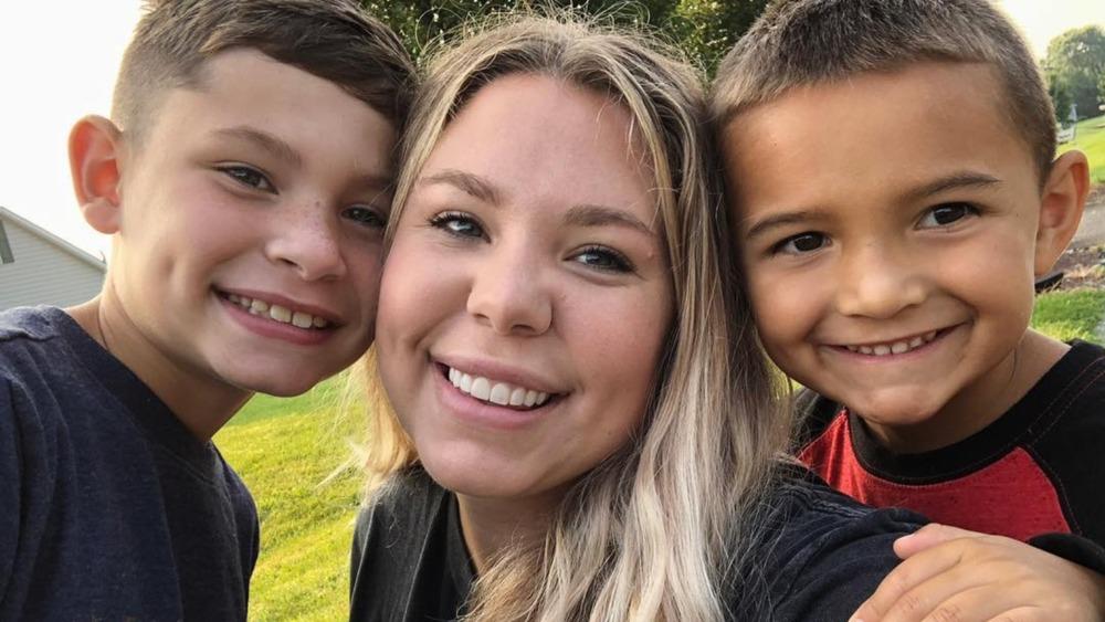 Kailyn Lowry og sønnene Isaac og Lincoln