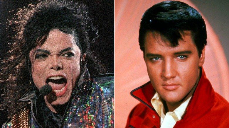 Michael Jackson, Elvis Presley