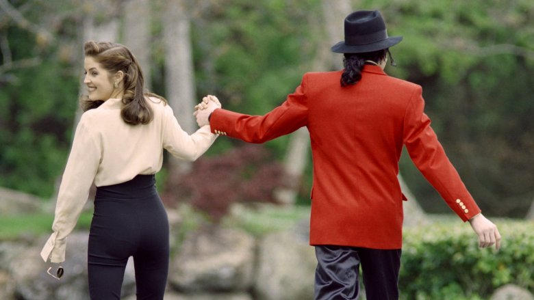 Lisa Marie Presley, Michael Jackson