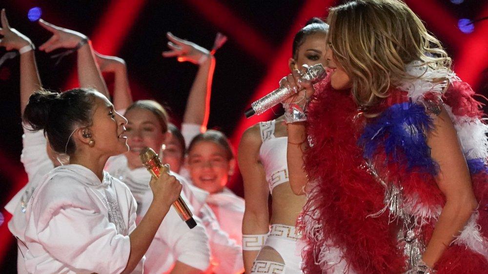 Emme med Jennifer Lopez