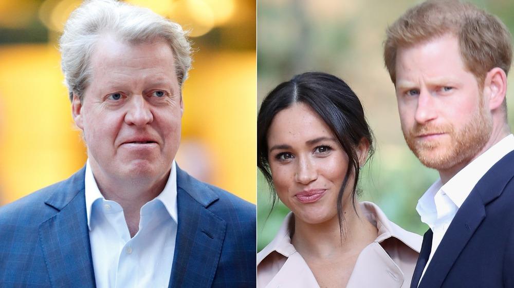 Charles Spencer, Meghan Markle, prins Harry