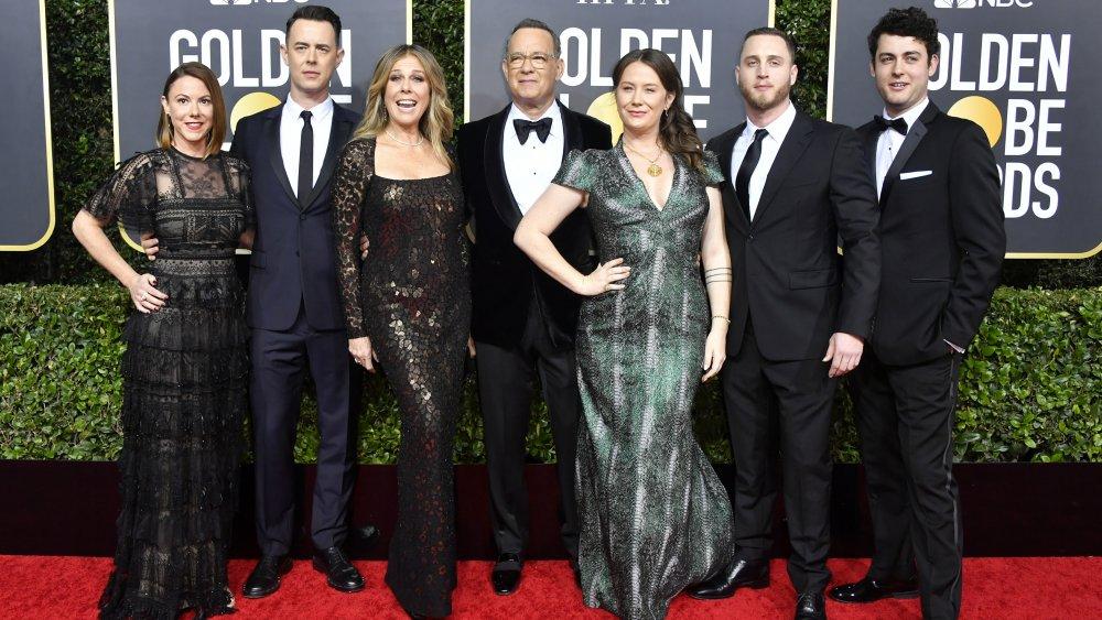 Chet Hanks med familien