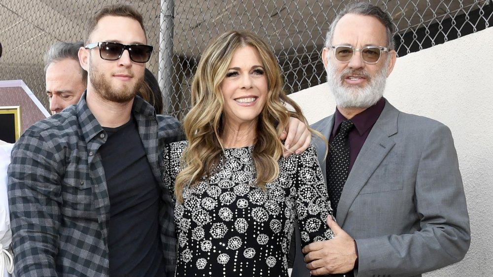 Chet Hanks, Rita Wilson, Tom Hanks