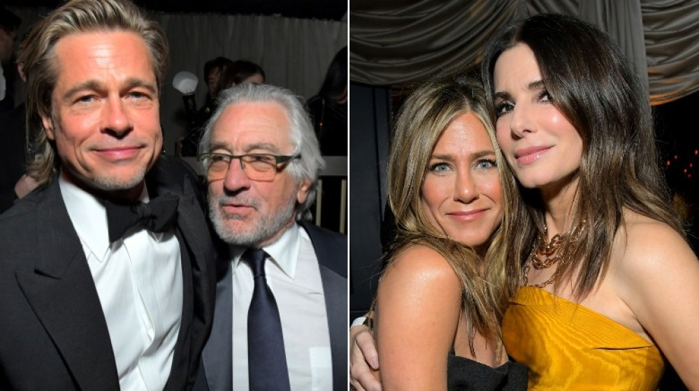 Brad Pitt, Robert De Niro, Jennifer Aniston, Sandra Bullock