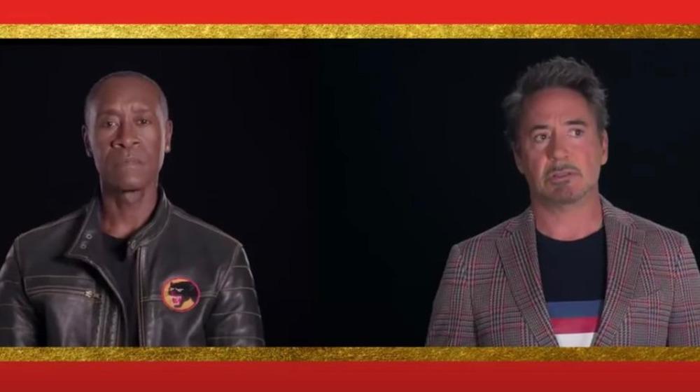 Don Cheadle, Robert Downey Jr.