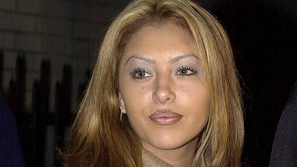 Vanessa Bryant med blondt hår