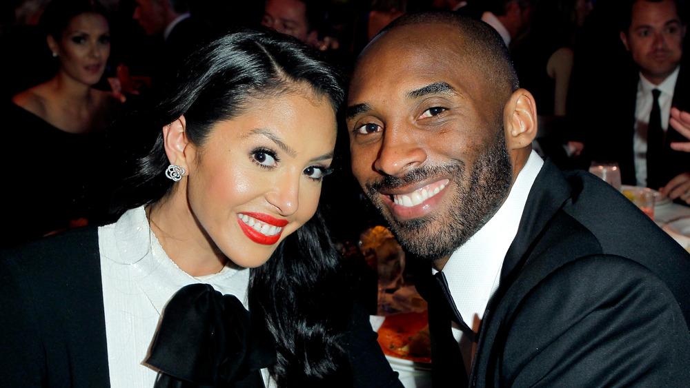 Vanessa Bryant og Kobe Bryant til middag