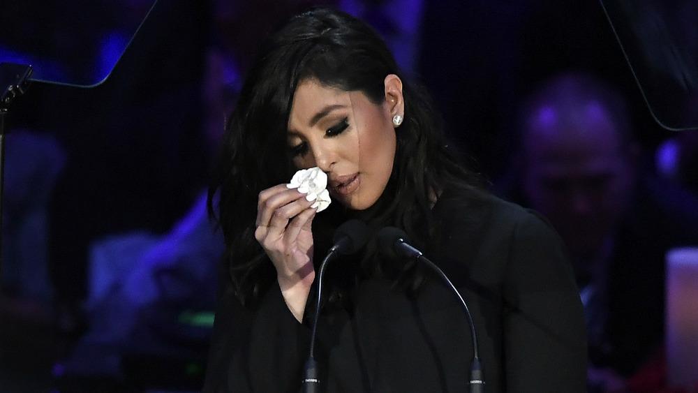 Vanessa Bryant på minneseremonien til Kobe Bryant