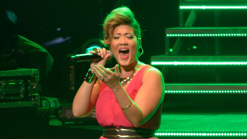 Tessanne Chin synger