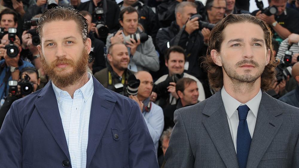 Tom Hardy og Shia LaBeouf stiller sammen på filmfestivalen i Cannes
