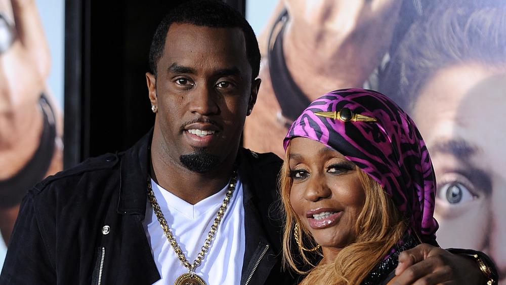 Diddy og moren hans Janet