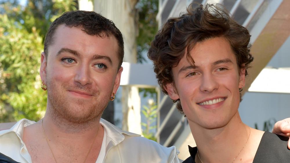 Sam Smith og Shawn Mendes
