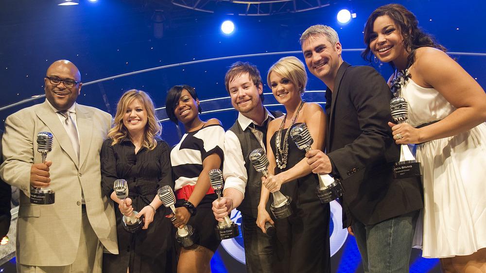 American Idol-vinnere som holder priser