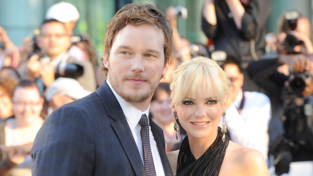 Anna Faris og Chris Pratt deltok på en prisutstilling